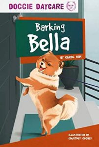 Barking Pomeranian illustration
